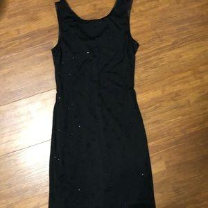 City Triangles Black Cocktail Dress